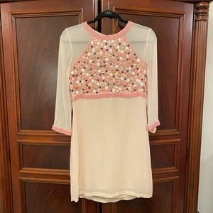 NWT French Connection Mosaic Me Dress